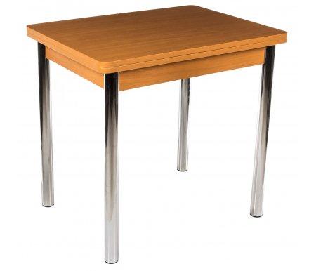 Стол Дрезден 2 М бук / ножка 02 хромДеревянные столы<br><br>