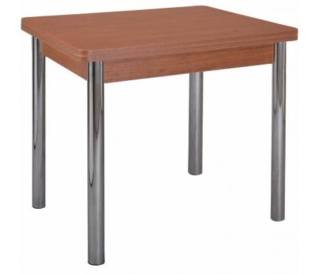Стол Дрезден 2 М вишня / ножка 02 хромДеревянные столы<br><br>