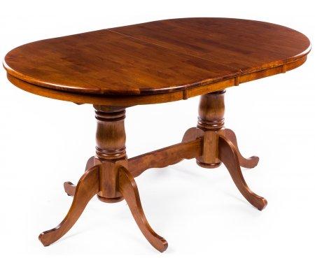Стол INSP EDT 36MT с метал. направляющими Oak (темный дуб)Деревянные столы<br>Столешница и ножки стола EDT-36 выполнены из массива гевеи. За разложенным столом можно разместить до 8 персон. <br><br> Комплектуется металлическими направляющими.<br>