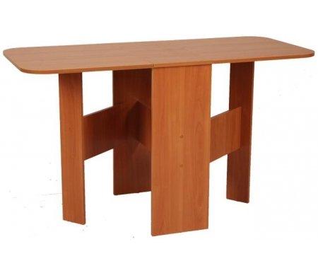 Стол-книжка Мечта вишня оксфордДеревянные столы<br>Ножки стола-книжки Мечтаизготовлены из ламинированного ДСП (16 мм) с кромкой ПВХ (0,4 мм).<br>Столешница, выполнена из ламинированного ДСП толщиной 16 мм, покрытой кромкой ПВХ (1,0 мм).Конструкция этого стола позволяет размещать эту модель стола в любом помещении. <br>   <br>    <br>   <br>    Стол поставляется в разобранном виде (1 упаковка).<br>