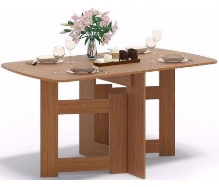 Стол-книжка СП-08 ноче-эккоДеревянные столы<br>Столешница изготовлена из ламинированной ДСП, толщиной 16 мм. <br> <br>  <br> <br> <br>Поставляется в разобранном виде.<br>