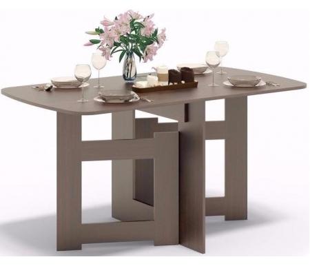 Стол-книжка СП-08 дуб венгеДеревянные столы<br>Столешница изготовлена из ламинированной ДСП, толщиной 16 мм. <br> <br>  <br> <br> <br>Поставляется в разобранном виде.<br>
