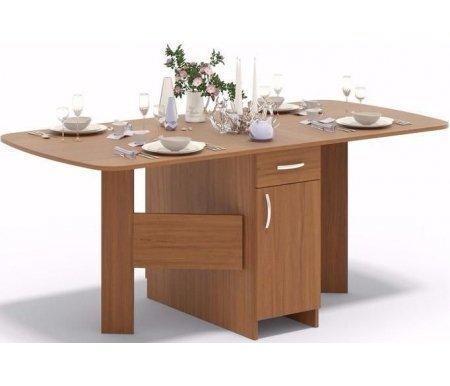 Стол-книжка СП-09 ноче-эккоДеревянные столы<br>Столешница изготовлена из ламинированной ДСП, толщиной 16 мм. <br> <br>  <br> <br>  Поставляется в разобранном виде.<br>