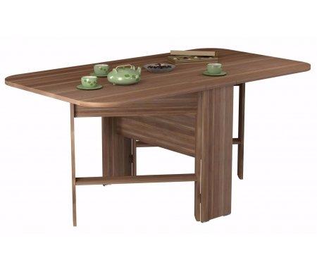 Стол-книжка СТ 80-02 (VK) сливаДеревянные столы<br>Стол изготовлен из высококачественной ламинированной ДСП (относящейся к самой экологичной группе ДСП).<br><br>  <br><br><br>Столешница толщиной 22 мм имеет закругленные углы и складывается до 26 см, что делает стол оптимальным для небольших помещений.<br>
