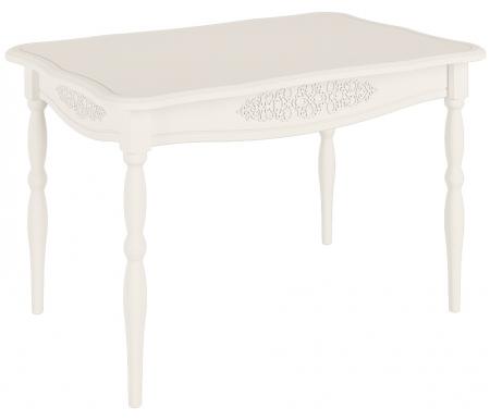 Здесь можно купить кухонный Ассоль АС-31 белое дерево  Стол Компасс Деревянные столы