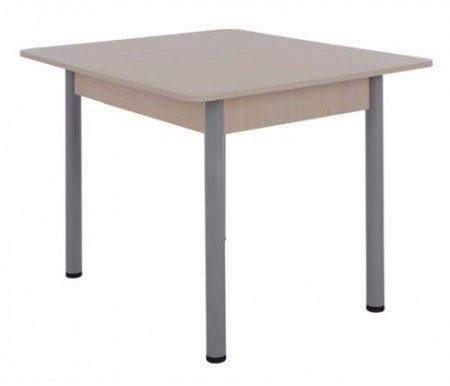 Стол Квартет 2 дуб млечныйДеревянные столы<br>Стол изготовлен из ламинированного ДСП (16 мм) с кромкой ПВХ (0,4 мм), столешница - с кромкой ПВХ (1,0 мм). Оснащен шариковыми направляющими. Ножки регулируются по высоте. <br> <br>   <br>    <br>   <br> <br>  Стол поставляется в разобранном виде (2 упаковки).<br>