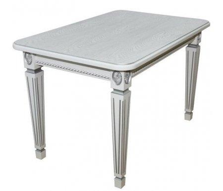 Купить Стол Мебелик, Меран 02 150 х 80 см белый / патина