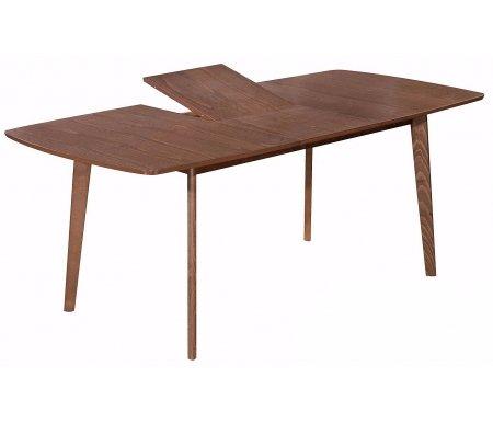 Стол обеденный euro 6821 MB merlot beechДеревянные столы<br>Ножки стола выполнены из массива бука, столешница - мдф и шпон. Механизм трансформации - бабочка. За столом может поместиться 10 человек.<br>