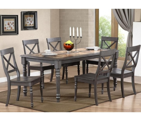 Купить Стол обеденный Мебель Малайзии, LT T15345 G503 grey