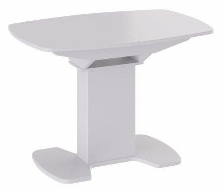 Купить Стол обеденный Трия, Портофино СМ (ТД) -105.01.11 (1) белый глянец, белый глянец / белый глянец