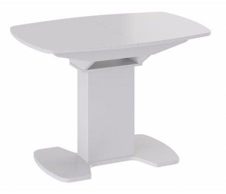 Купить Стол обеденный Трия, Портофино СМ (ТД)-105.02.11 (1) белый глянец, белый глянец / белый глянец