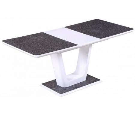 Купить Стол обеденный Мебель Малайзии, раскладной Crona 140 White 3805CD / MDF-1