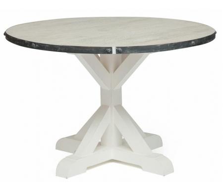 Купить Стол обеденный Тетчер, Secret De Maison Riviera (mod.2112) antique white / white wash, antique white / whitewash