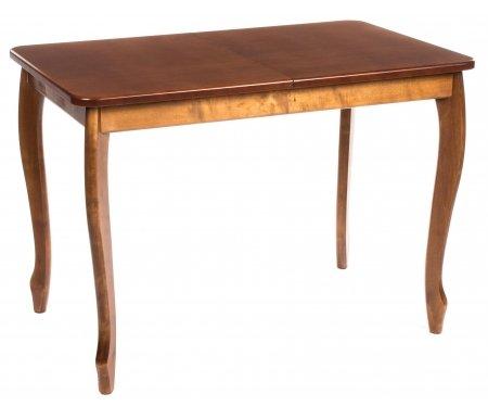 Стол обеденный СО2 орехДеревянные столы<br>Обеденный стол СО2 выполнен в классическом стиле (фигурные ножки, прямое подстолье) и обладает удобным механизмом раскладки бабочка. Модель представлена в нескольких вариантах исполнения.<br>