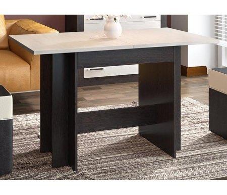 Стол раздвижной Кельн Т2Деревянные столы<br>Обеденный раздвижной стол Кельн - идеальное решение для тех, кто часто принимает гостей. Сочетание светлых и темных тонов добавит оригинальности дизайну. Промежуточная длина при раскладывании одной вставки - 150 см, максимальная - 180 см.<br>