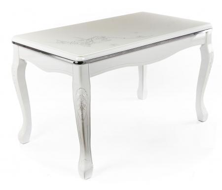 Стол SM-10Деревянные столы<br>Столешница выполнена из стекла.<br>