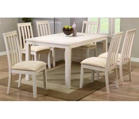 Стол LT T11246 WW55Деревянные столы<br>Каркас стола T11246 изготовлен из массива гевеи, столешница покрыта керамической плиткой. <br> <br>  <br> <br> <br>Стол поставляется в разобранном виде.<br> <br> <br>  <br> <br> <br>За столом можно разместить до 8 персон.<br>