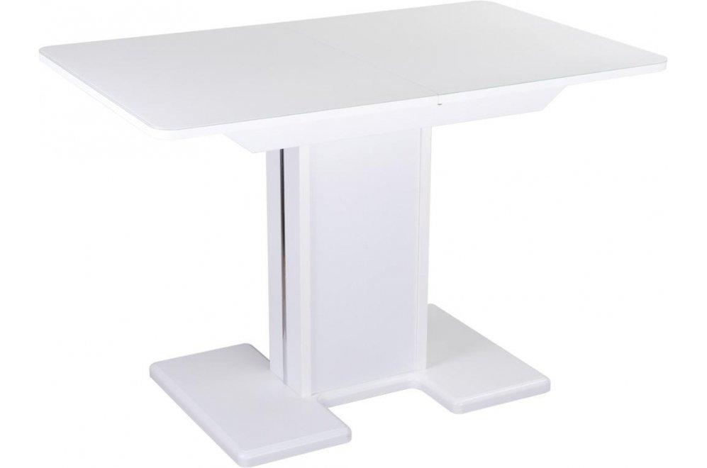 Стол Танго ПР белый ст-БЛ / ножка 05 белая / белая