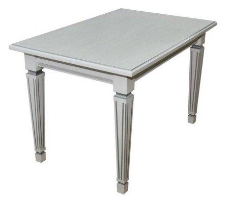 Купить Стол Мебелик, Васко 03 150 х 80 см белый / патина