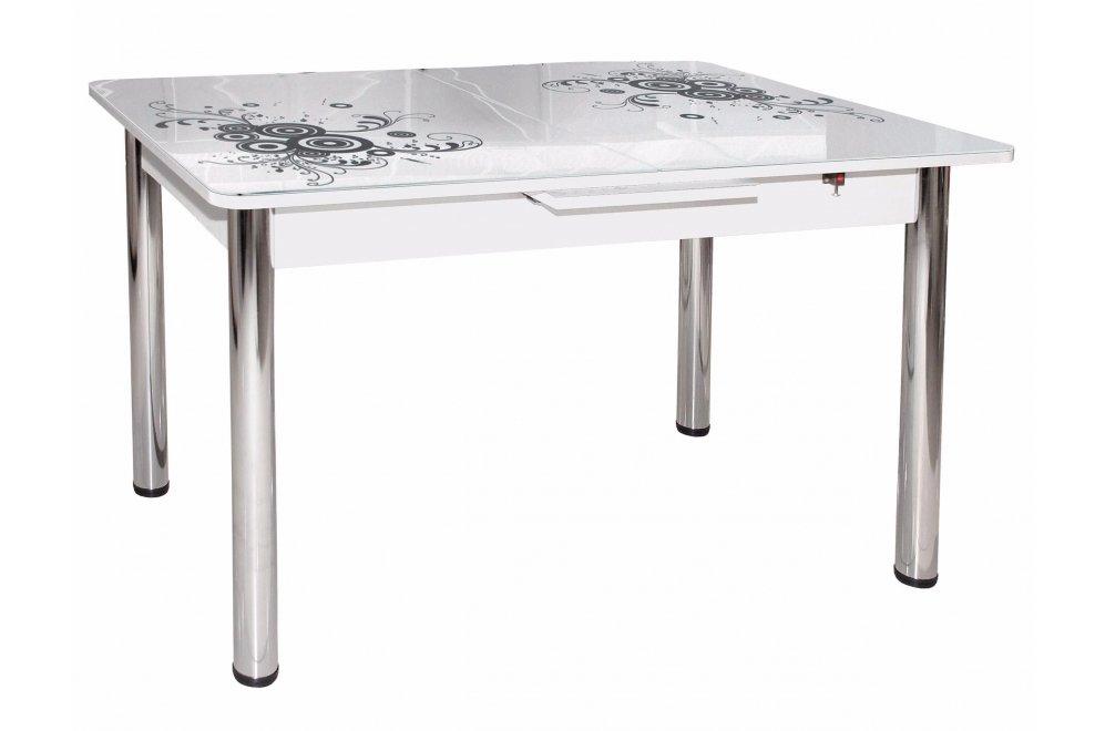 Обеденный стол Грация белый