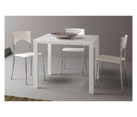 Стол ANNA лак белый (LB) / стекло белое (VBI)Стекло + дерево<br>Каркас стола ANNA от фабрики Natisa изготовлен из массива дерева, столешница выполнена из закаленного стекла. Стол обладает удобным механизмом раскладки, позволяющим увеличить рабочую поверхность в два раза. <br> <br>  <br> <br> <br>Стол поставляется в разобранном виде.<br>