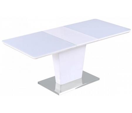 Купить Стол обеденный Мебель Малайзии, раскладной Toris 120 White MDF-1 / белое глянцевое стекло