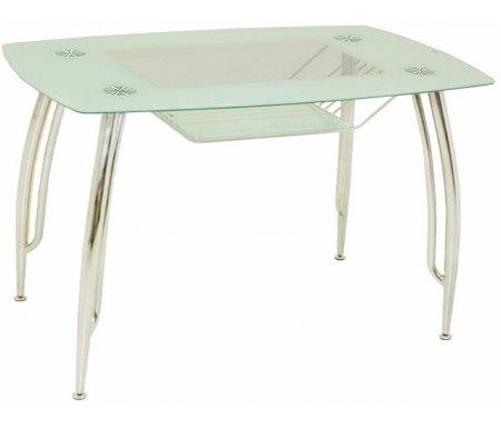 Стол A331 (120x70) whiteСтеклянные столы<br><br>