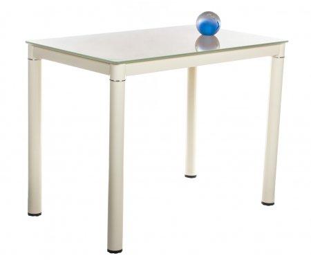 Стол обеденный S04 beige / beigeСтеклянные столы<br>Стол не имеет раскладной механизм.<br>