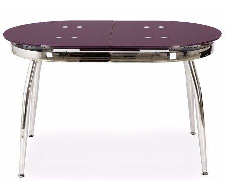 Стол обеденный S41 purpleСтеклянные столы<br>Механизм разложения стола - бабочка. Изделие увеличивается в длину со 121 см до 152 см.<br>