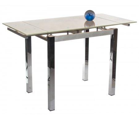 Стол S64 (80) beigeСтеклянные столы<br>Обратите внимание, у столешницы цвета Orange цвет ножек - серебряный (silver), у остальных цветов столешниц цвет ножек - хром.<br>