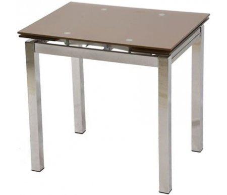 Стол S64 (80) shampanСтеклянные столы<br>Обратите внимание, у столешницы цвета Orange цвет ножек - серебряный (silver), у остальных цветов столешниц цвет ножек - хром.<br>
