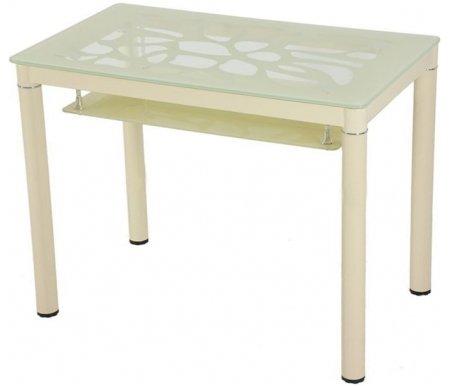 Стол S828 light beigeСтеклянные столы<br><br>