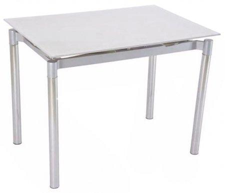 Стол TL-1128A super whiteСтеклянные столы<br><br>