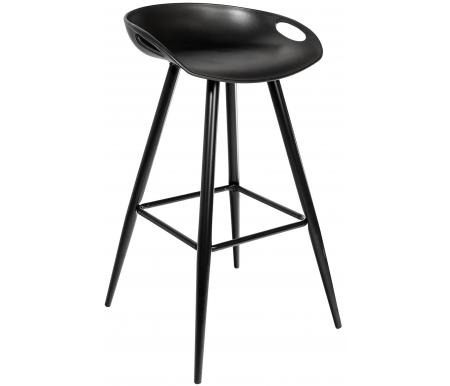 Барный стул Стул Груп Барри / Fiyan Black черный / черные ножки фото