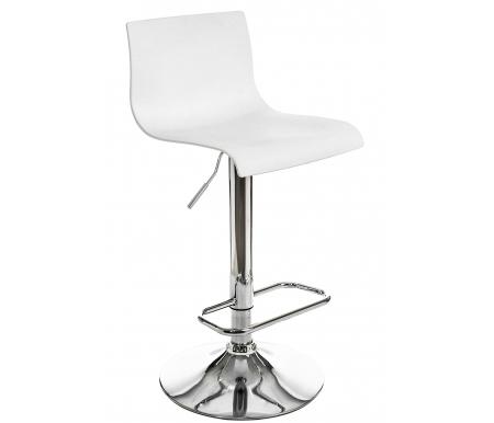 Купить Барный стул Pranzo, Bras хром (CR) / белый (PPL white), Италия
