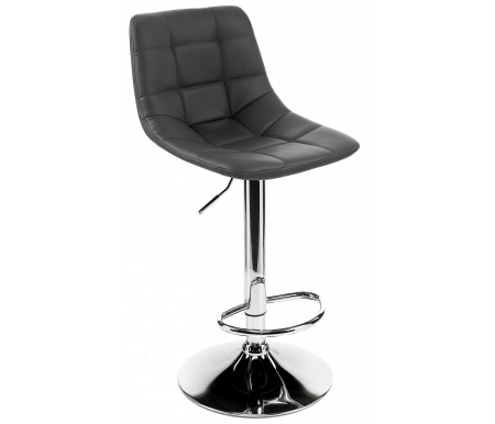 Купить Барный стул Pranzo, Chianti хром (CR) / серый (SP10), Италия