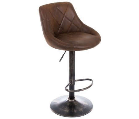 Купить Барный стул Woodville, Curt vintage brown, Китай