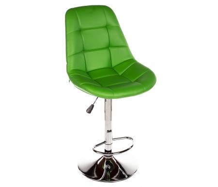 Барный стул Eames зеленыйБарные стулья<br>Высота спинки от сиденья 43 см.<br>
