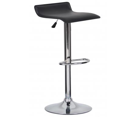 Барный стул Krim T-100G-5 черныйБарные стулья<br>Стул снабжен поворотно-подъемным механизмом газ-лифт.<br>