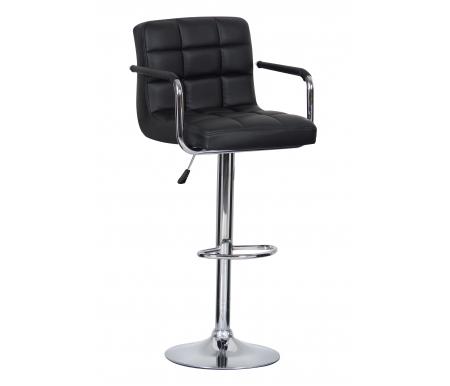 Барный стул Kruger Arm T-808F-1 черныйБарные стулья<br><br>