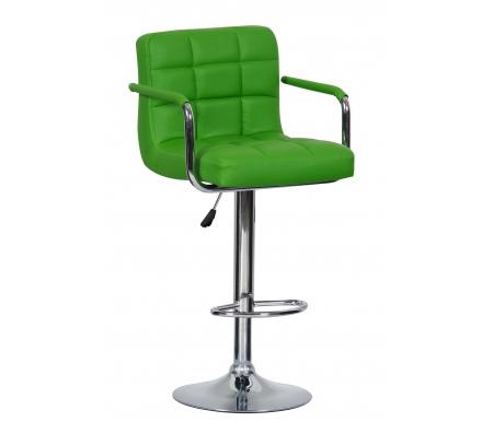 Барный стул Kruger Arm T-808F-1 зеленыйБарные стулья<br><br>
