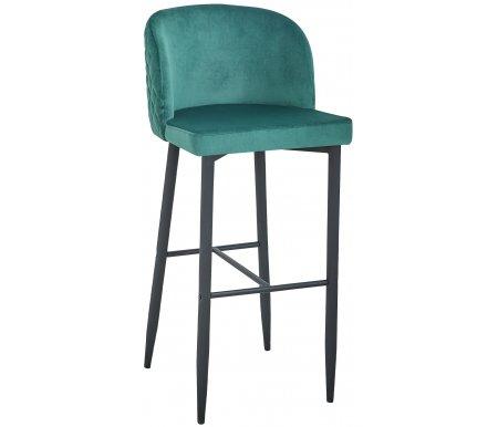 Барный стул Стул Груп Ланарк вельвет изумрудный фото