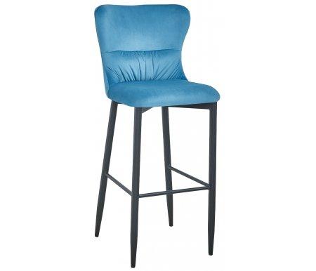 Барный стул Стул Груп Лайра вельвет темно-бирюзовый фото