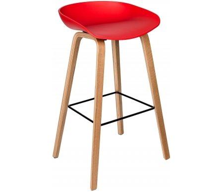 Барный стул Стул Груп Libra красный / Вирта красный фото