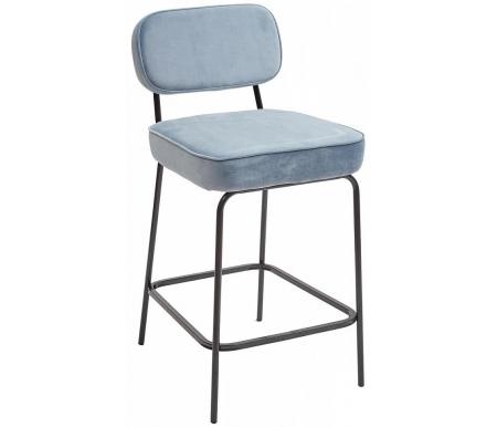 Купить Барный стул Мебель Малайзии, Memphis серо-голубой металлик