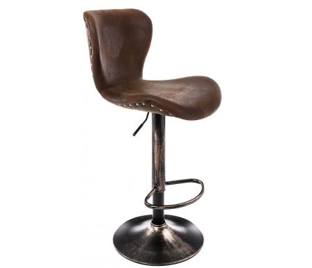 Барный стул Woodville, Over vintage brown, Китай  - Купить