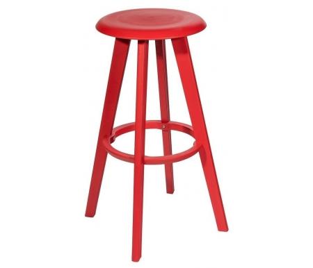 Барный стул Стул Груп с функцией вращения красный фото