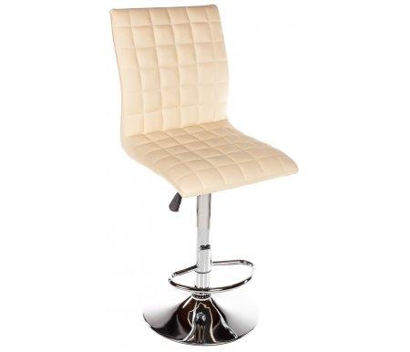 Барный стул Smart бежевыйБарные стулья<br>Высота спинки от сиденья 39 см.<br>