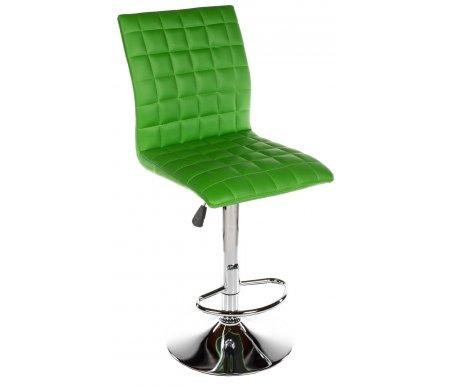 Барный стул Smart зеленыйБарные стулья<br>Высота спинки от сиденья 39 см.<br>