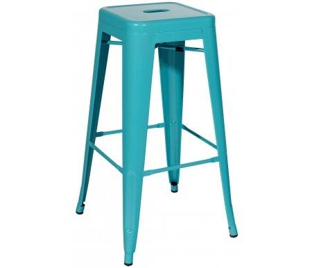 Купить Барный стул Стул Груп, Тиоли / Tolix YD-H765 YG-06 голубой матовый
